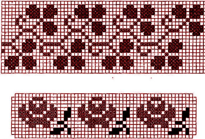 Схемы вышивки букв бисером