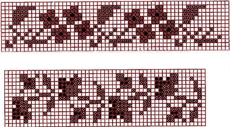 Схемы для тканья бисером,